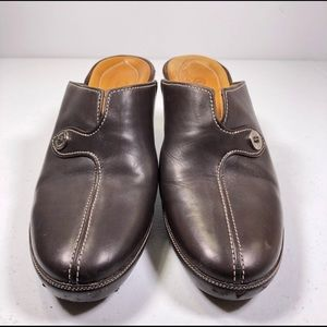 EUC Cole Haan Brazil D15242 Slip On Heeled Mules